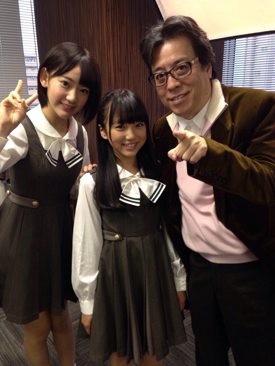 HKT48の矢吹奈子と小林よしのり