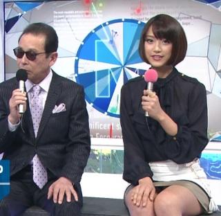 ミュージックステーションで司会をするタモリと竹内由恵