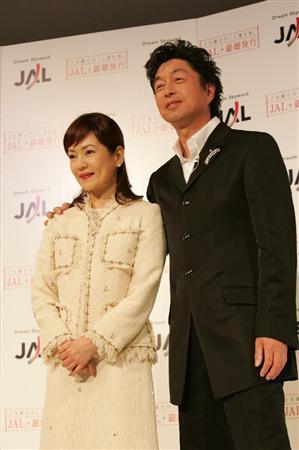 中村雅俊と五十嵐淳子