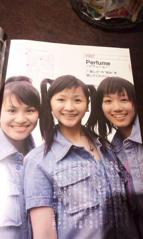 一昔前のPerfume、あーちゃん、かしゆか、のっち