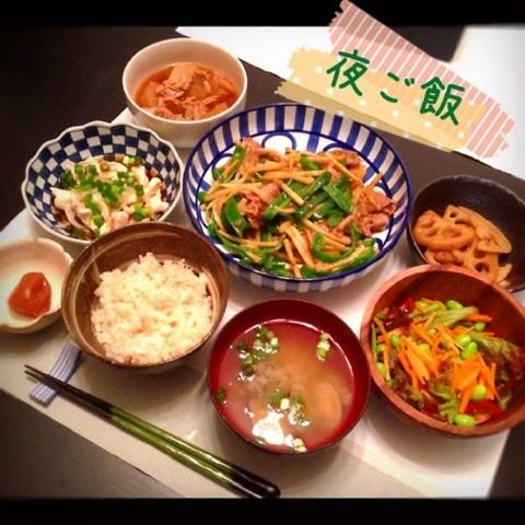 里田まいが作った料理