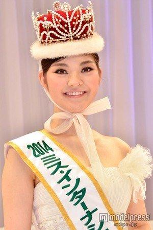2014ミス・インターナショナル日本代表に選出された本郷李來さん