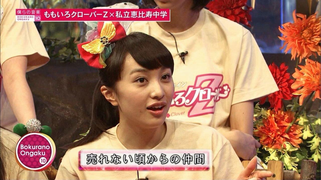 ももいろクローバーZの赤、百田夏菜子の顔が疲れすぎてる