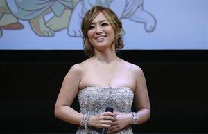 映画『BUDDHA2 手塚治虫のブッダ 終わりなき旅』ワールドプレミアでの浜崎あゆみ