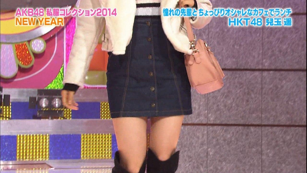 HKT48、兒玉遥の私服姿がIKKOの妹分みたい