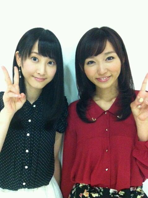 SKE48の松井玲奈と吉木りさ