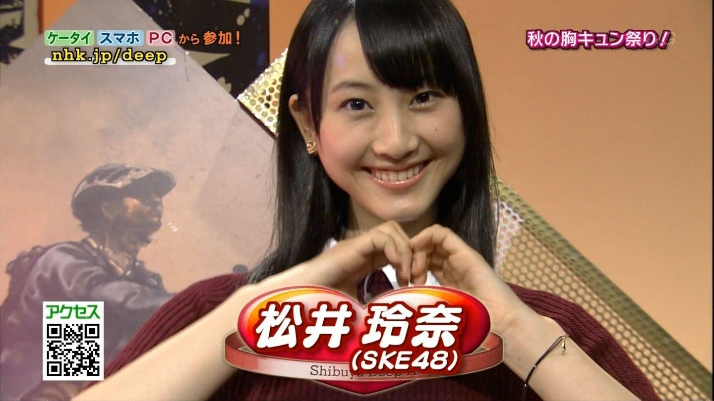 NHK「Shibuya Deep A」で共演したSEK48松井玲奈