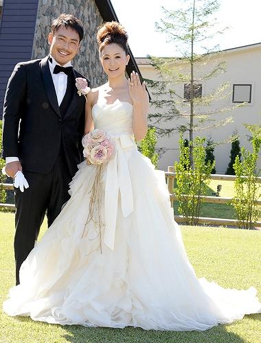 上村愛子と皆川賢太郎の結婚式