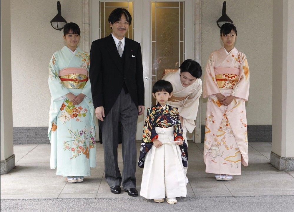 秋篠宮さま、紀子さま、眞子さま、佳子さま、悠仁さま