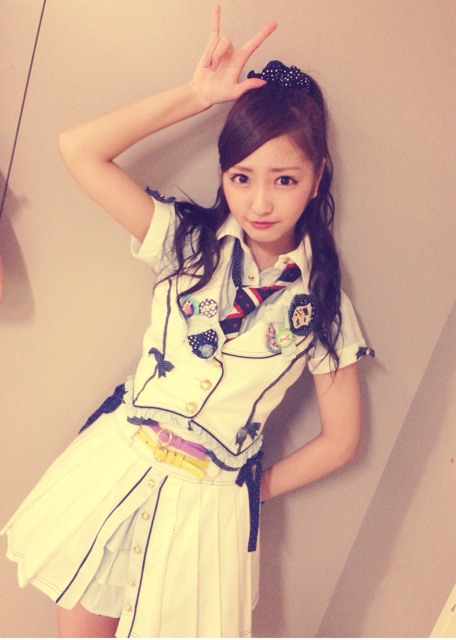 板野友美そっくりになったと話題のAKB48・相笠萌