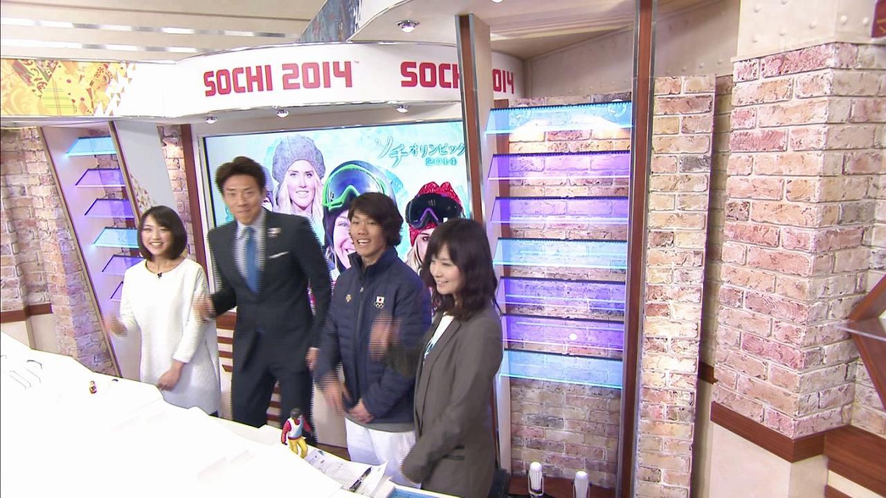 ソチオリンピックのスノーボード解説者、田中幸さんが可愛い