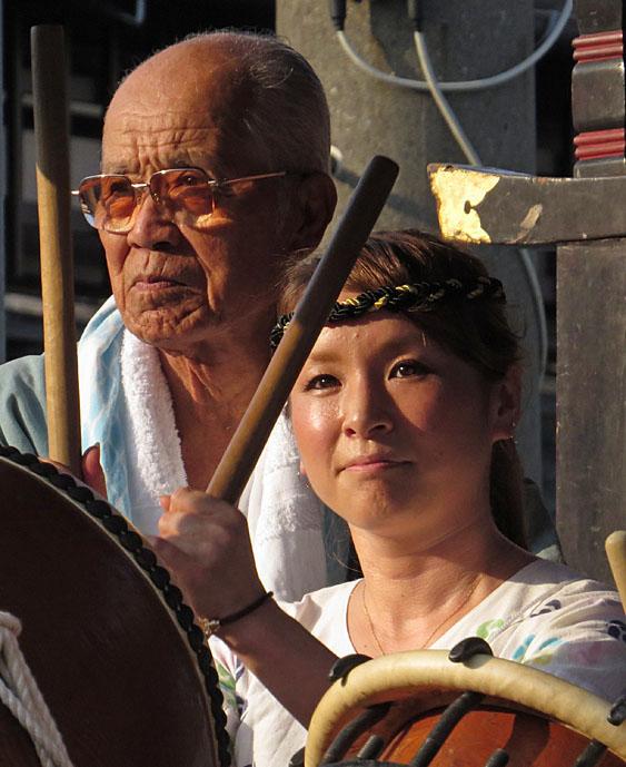 130727鴨居神社お囃子10