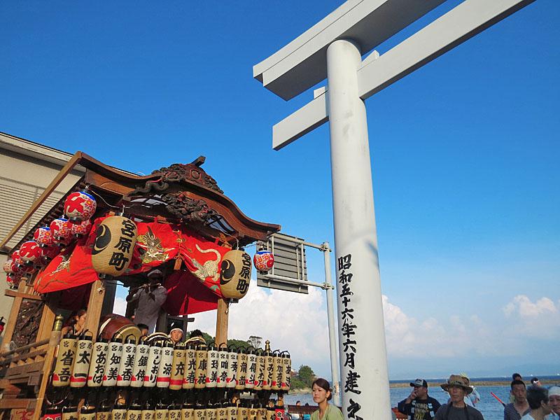 130727鴨居神社お囃子1