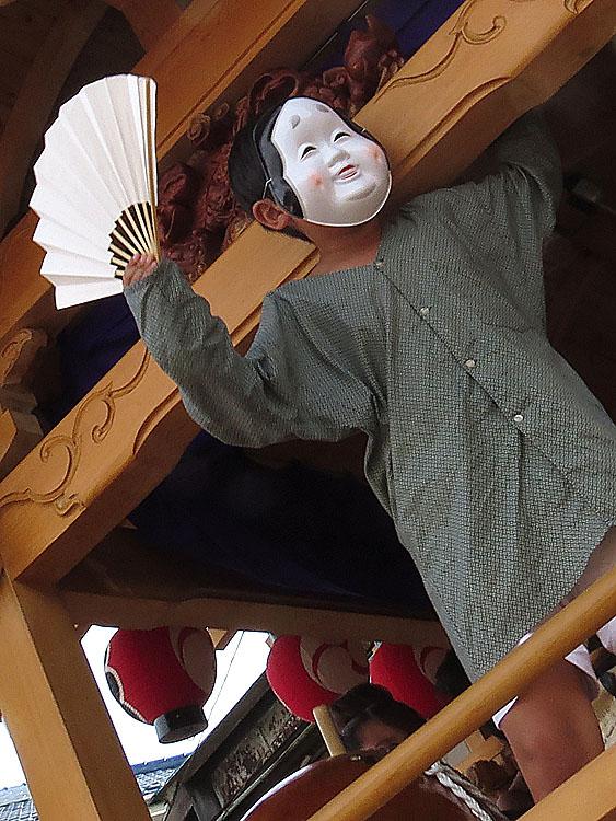 130727鴨居神社お囃子2