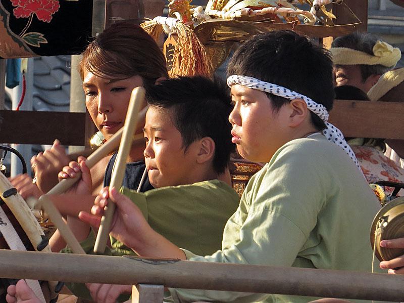 130727鴨居神社お囃子5