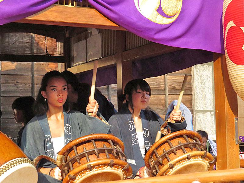 130727鴨居神社お囃子6