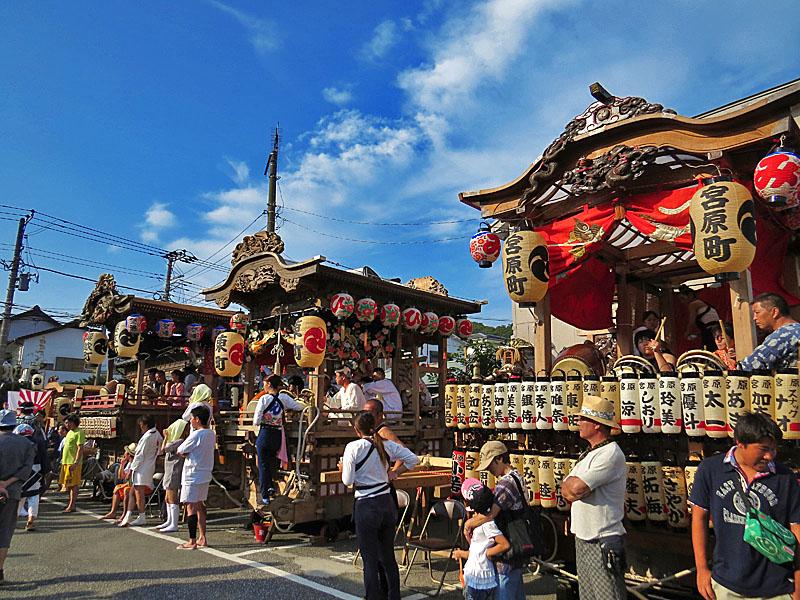 130727鴨居神社お囃子11
