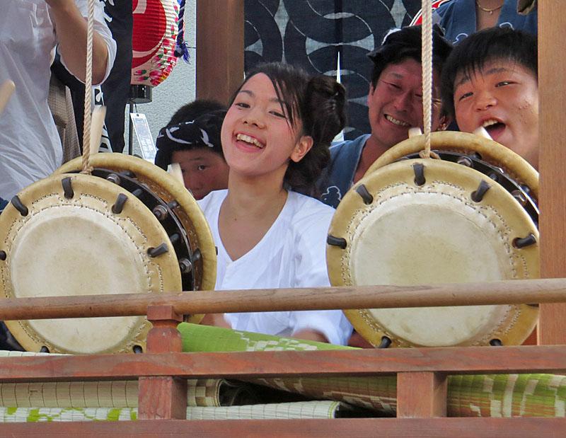 130727鴨居神社お囃子9