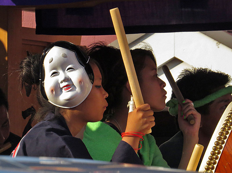 130727鴨居神社お囃子8