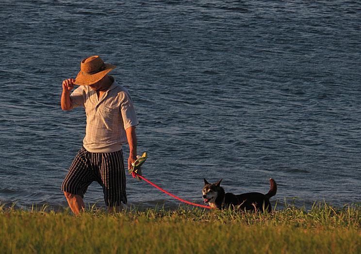 130901犬の散歩