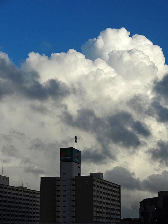 130904今日の入道雲2