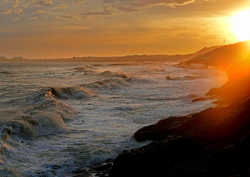 130916台風一過の野比海岸6