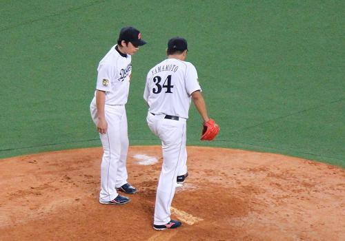 2012年9月8日阪神戦10