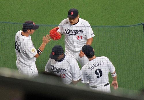 2012年9月8日阪神戦9