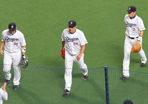 2012年9月8日阪神戦8