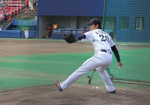 2012年9月22日ファーム広島戦4