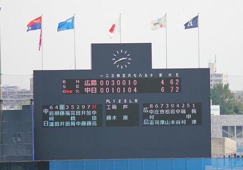2012年9月22日ファーム広島戦16