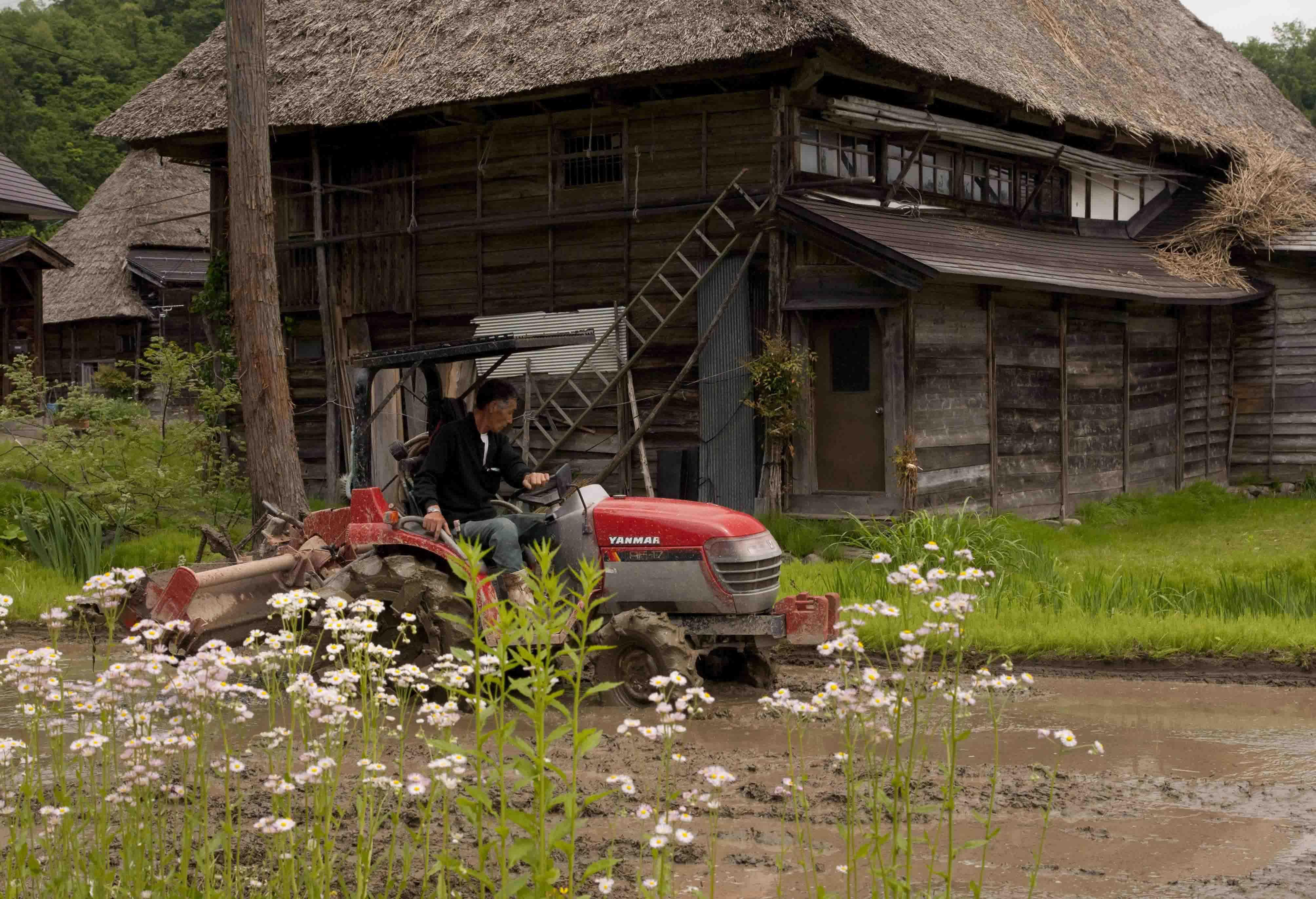 荻の島合掌家の耕運機横ブログ