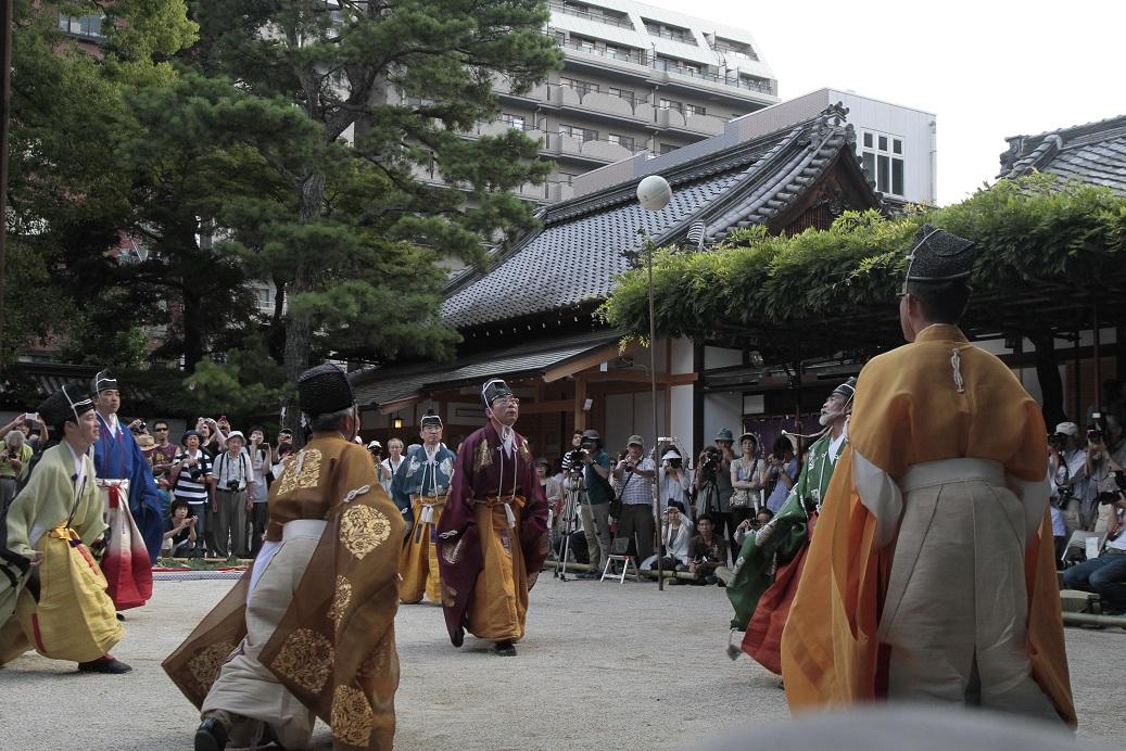 白峯神社蹴鞠6