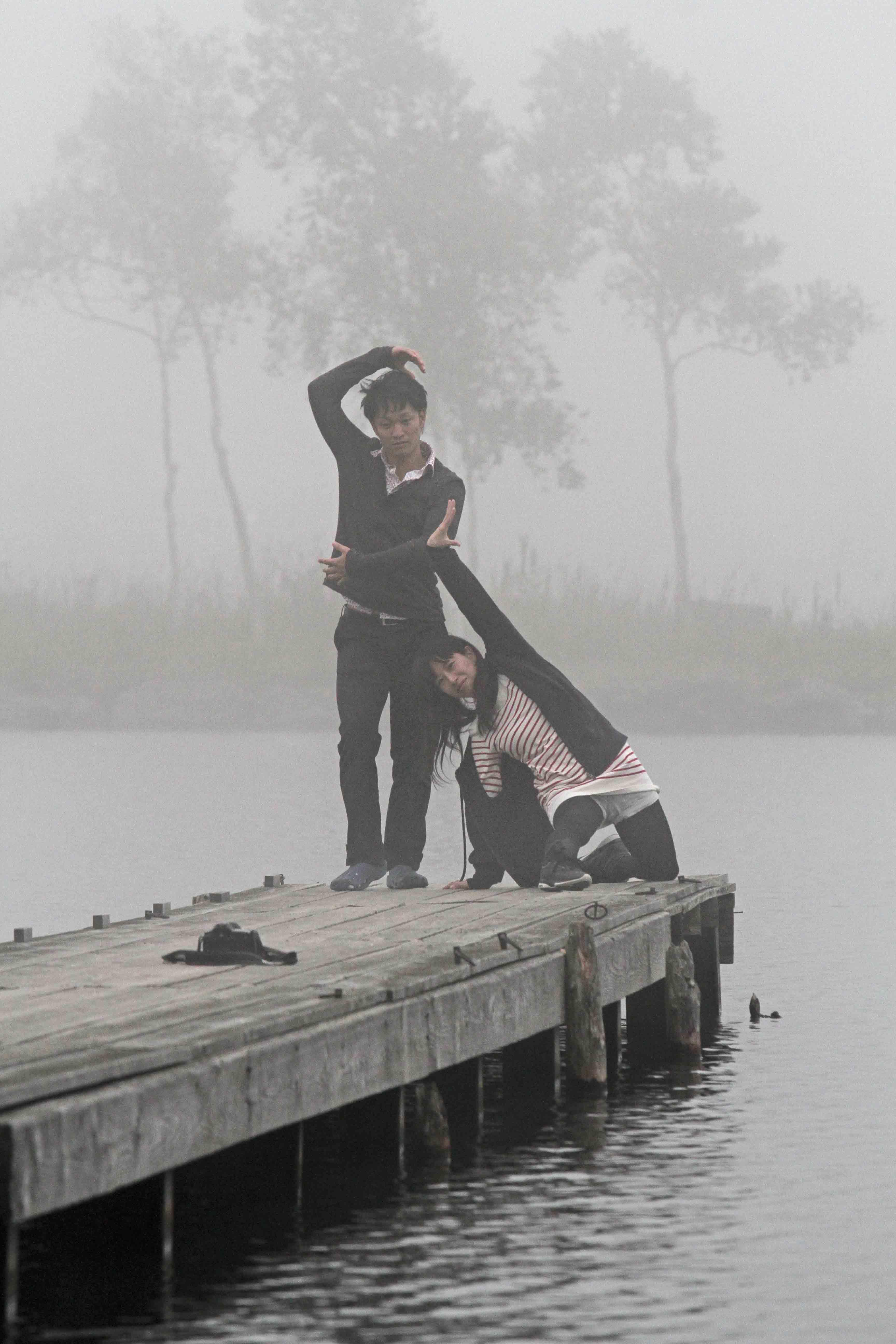 ブログ白樺湖二人2