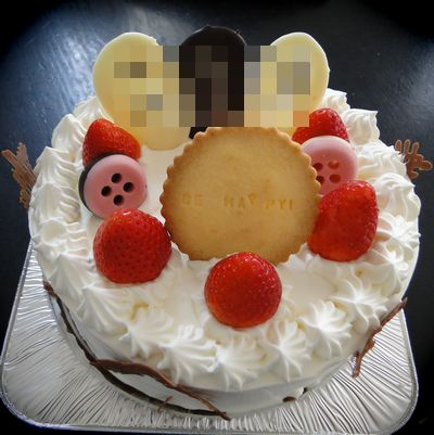 甥っ子の誕生日ケーキ2