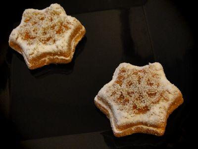 雪のレモンケーキ