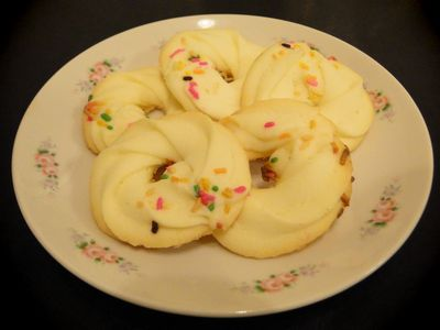 絞りクッキー