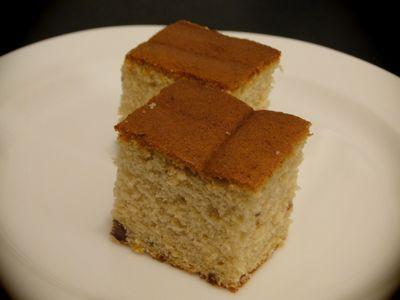 ゆであずきのケーキ2