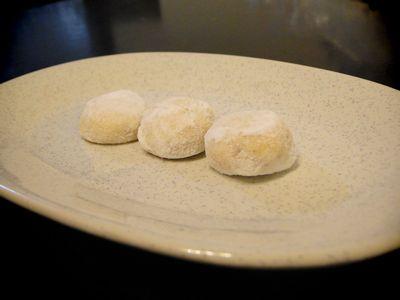 胡桃のクッキー
