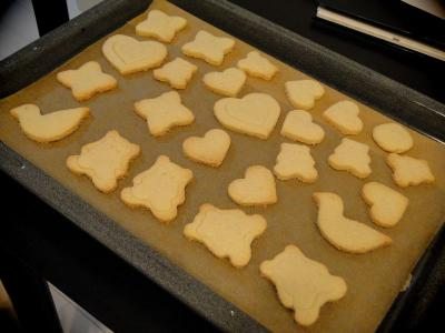 ココナッツミルククッキー