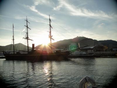 長崎港帆船