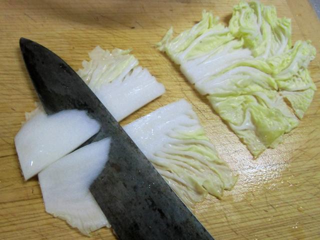 1-白菜の切りかた