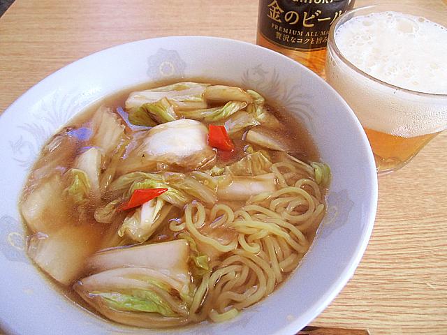 溜酸白菜麺
