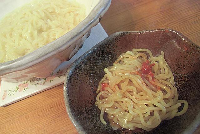 締めは中華麺