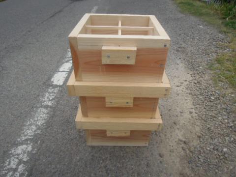 日本蜜蜂巣箱自作制作3