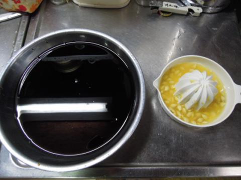 柚子ポン酢の調合配分