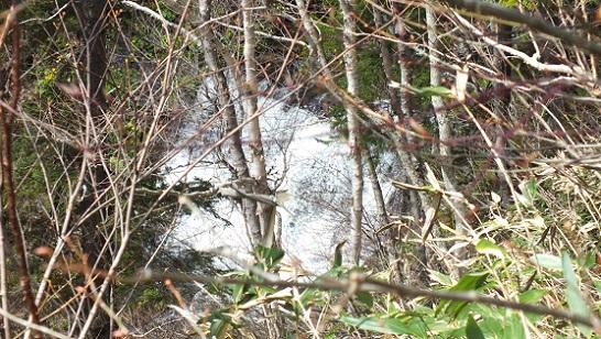 浮島峠の滝