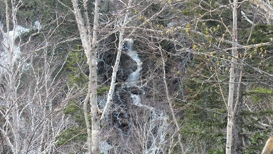 浮島峠の滝8