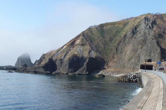 積丹奇岩2