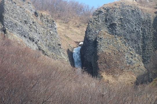 積丹山田橋の滝1